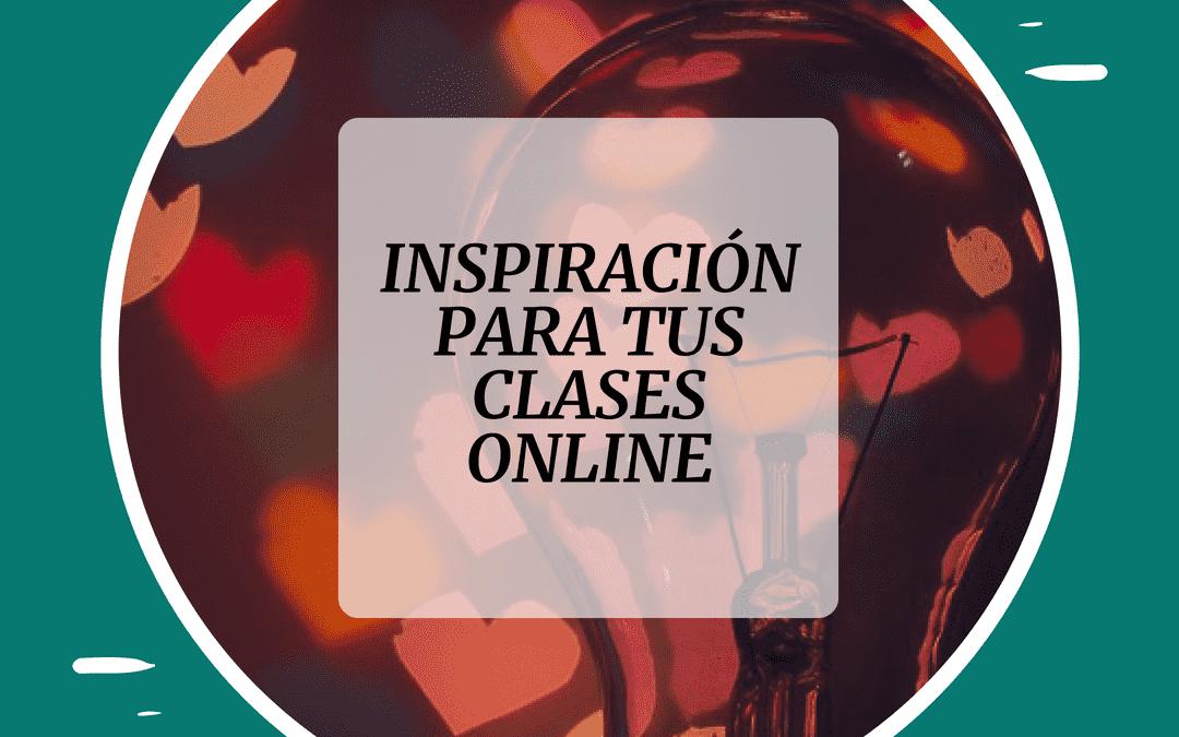 inspiracion para clases de español