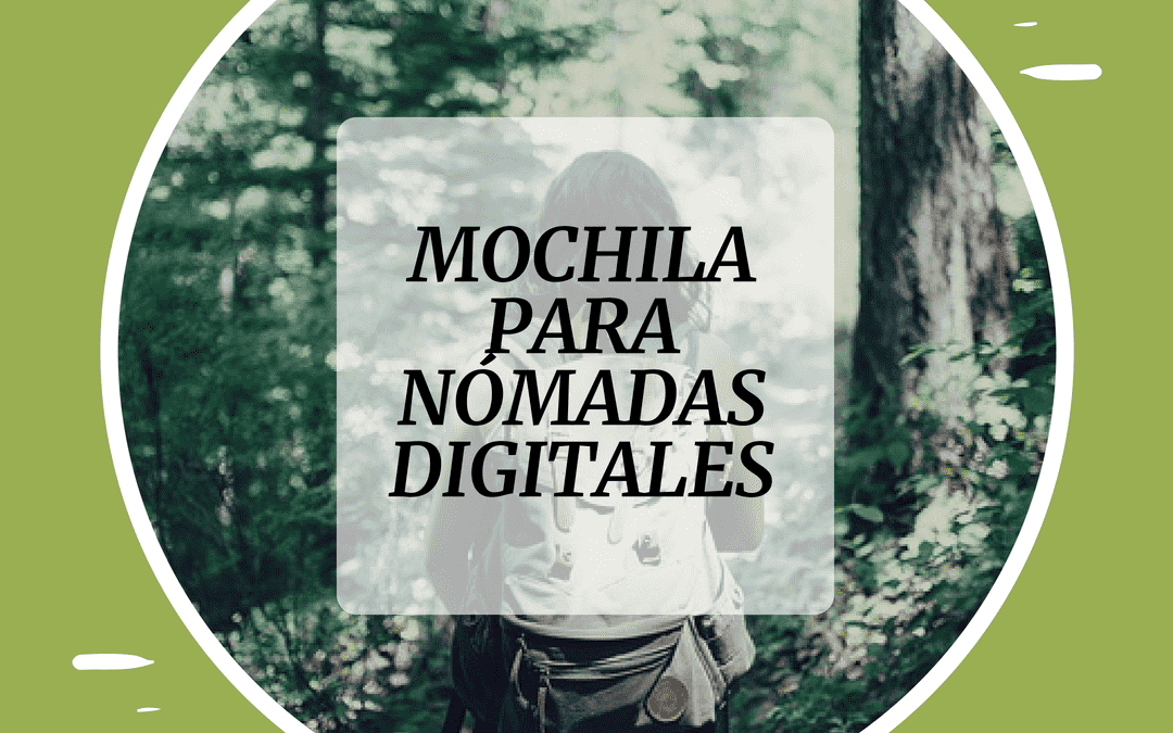 mochila bobbby para nómadas digitales